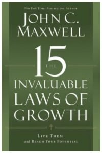 15 Invaluable laws of growth book