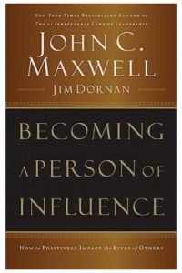 Becoming a Person on Influence book